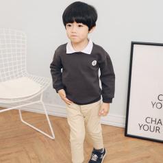 (需订货)Poniponchi2017新款男童舒适长袖卫衣#17