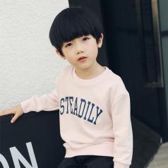 (需订货)Poniponchi2017新款男童舒适印字母卫衣#54
