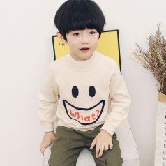 PONIPONCHI 圆领时尚毛衣 L031#
