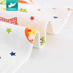 婴儿口水巾纯棉三角巾新生儿宝宝儿童夏季薄围嘴按扣头巾婴儿配件