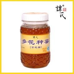 譚氏蜂蜜 百花蜜(多花種蜜)485g 百花蜜 農家百花蜜蜂蜜
