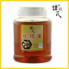 譚氏蜂蜜 枇杷蜜1.4kg 原生態活性野生蜂蜜 農家自產成熟蜂蜜枇杷蜜