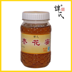 譚氏蜂蜜 棗花蜜485g 原生態農家自產棗花蜂蜜 專柜正品