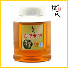 譚氏 1.4kg金銀花蜜 天然野生農家土蜂蜜