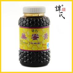 譚氏蜂蜜品牌 蜂蜜膏巢蜜膏1kg 深山蜂巢素 老巢蜜野生蜂巢蜜