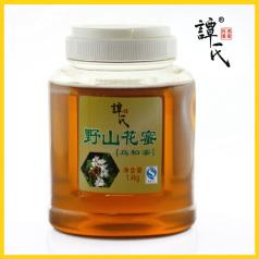 譚氏 1.4kg野山花蜜 營養全面 深色蜂蜜 從化特產 大瓶實惠