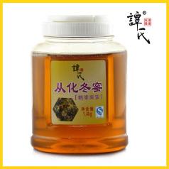 譚氏 1.4kg從化冬蜜(鵝掌柴蜜)原生態鴨腳木蜂蜜 農家鵝掌柴蜜 野生活性冬蜜