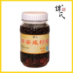 譚氏 485克蜂蜜咸檸檬 富含維生素C