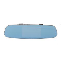 菲星 后视镜记录仪智能导航一体机双镜头行车记录仪D7
