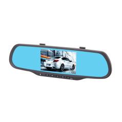 菲星 后视镜记录仪智能导航一体机双镜头行车记录仪D08