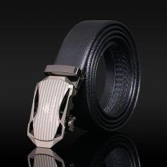金皮王 自动扣 超纤皮带