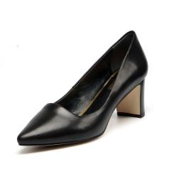 缪风 新品预售英伦时尚真皮高跟鞋 218-85