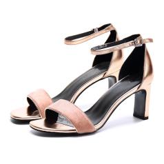 缪风 时尚粗跟凉鞋17213-2