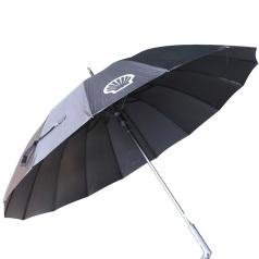 壳牌黑色雨伞