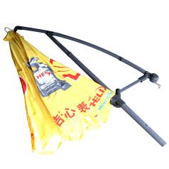 壳牌扣边型太阳伞 靠边伞