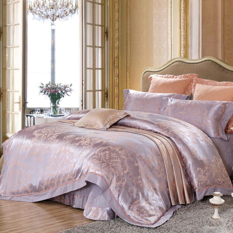 莫代爾提花床蓋六件套(布加斯)