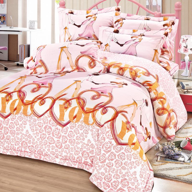 戀人蜜語-床罩四件套