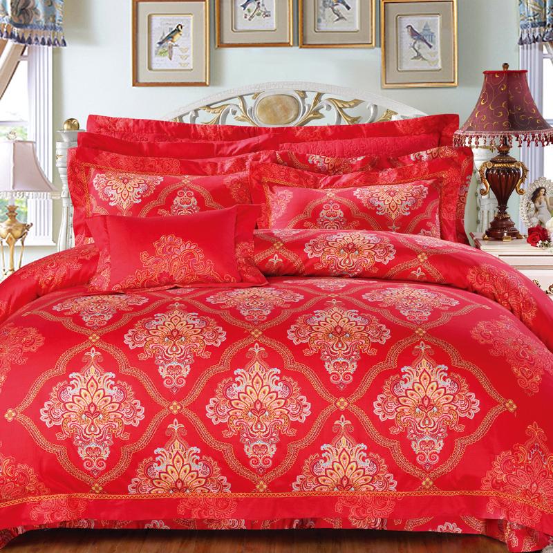燦爛繁花-珍珠槳床蓋六件套