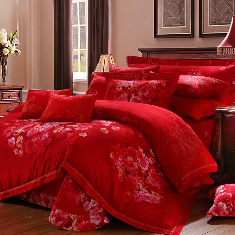 凡爾賽花園-全棉磨毛印花床蓋六件套
