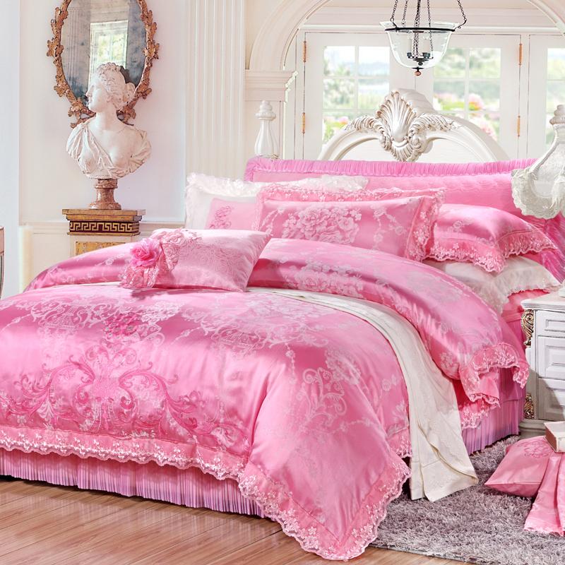 晨妝-天絲提花床蓋六件套