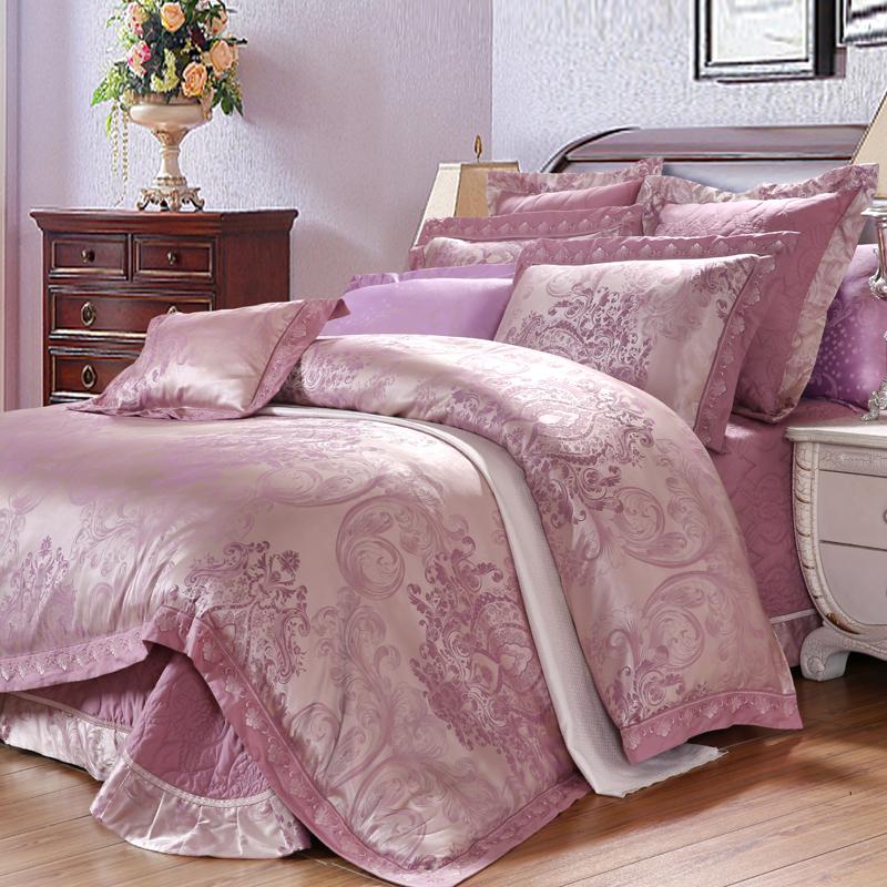 木代爾提花床蓋六件套(羅拉之夢)