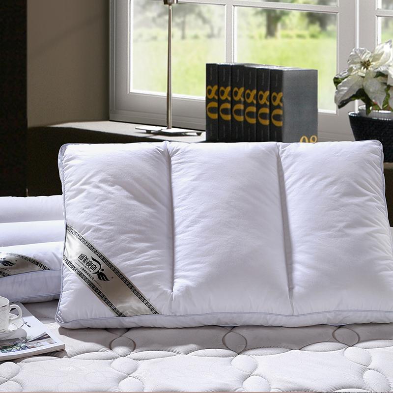 立體羽絲分區水洗枕