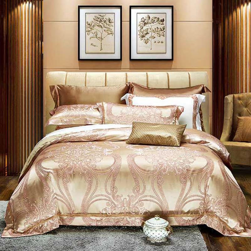 高精密提花床蓋八件套(微光流年)