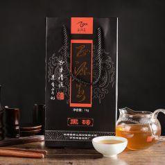 正源安黑茶 黑磚特級茶1kg